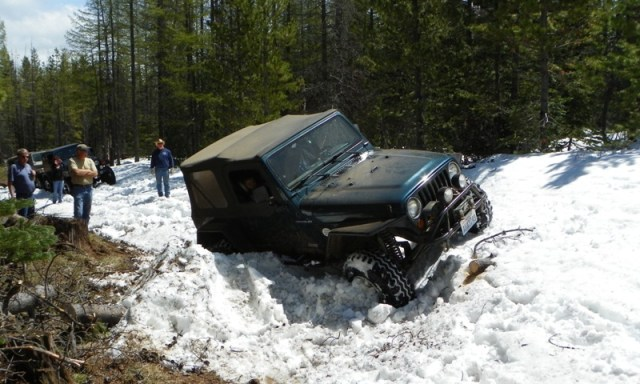 Memorial Day 4×4 Snow Run at the Ahtanum State Forest 27