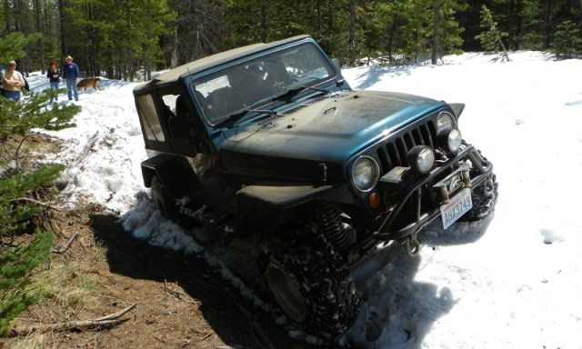 Memorial Day 4×4 Snow Run at the Ahtanum State Forest 28