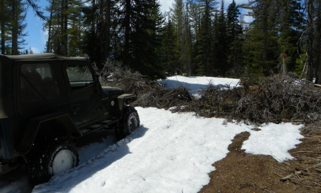 Memorial Day 4×4 Snow Run at the Ahtanum State Forest 33