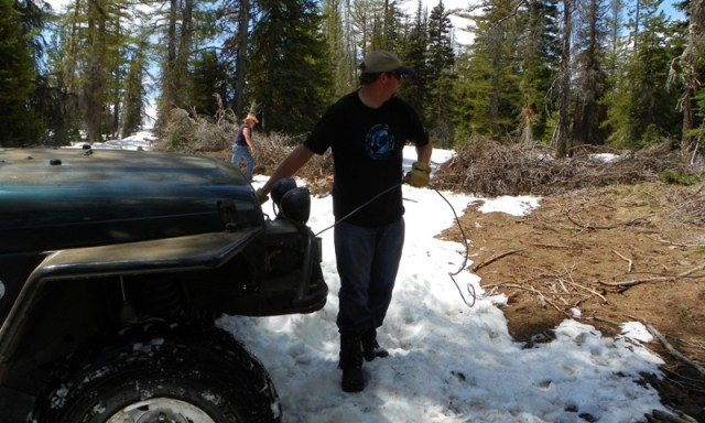 Memorial Day 4×4 Snow Run at the Ahtanum State Forest 38