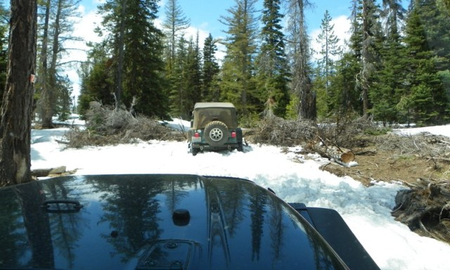 Memorial Day 4×4 Snow Run at the Ahtanum State Forest 41