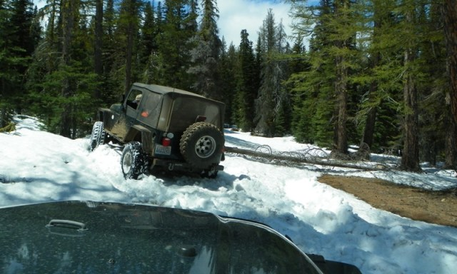 Memorial Day 4×4 Snow Run at the Ahtanum State Forest 42