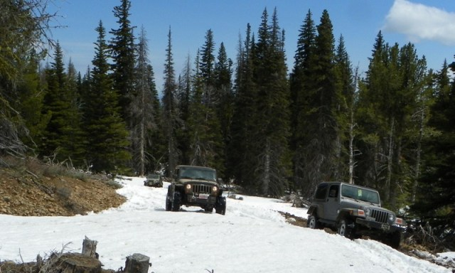 Memorial Day 4×4 Snow Run at the Ahtanum State Forest 44