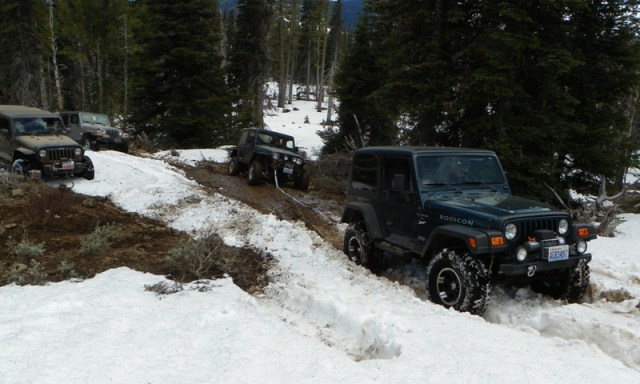 Memorial Day 4×4 Snow Run at the Ahtanum State Forest 47