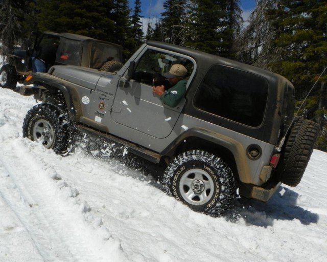 Memorial Day 4×4 Snow Run at the Ahtanum State Forest 51