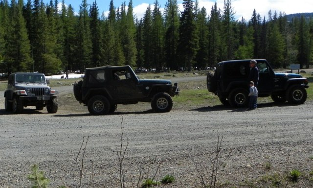 Memorial Day 4×4 Snow Run at the Ahtanum State Forest 55