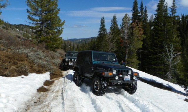 Memorial Day 4×4 Snow Run at the Ahtanum State Forest 61