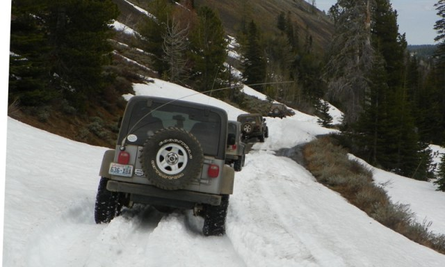 Memorial Day 4×4 Snow Run at the Ahtanum State Forest 69