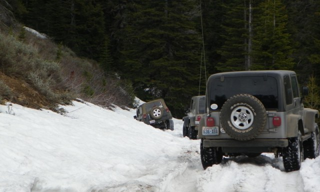 Memorial Day 4×4 Snow Run at the Ahtanum State Forest 73