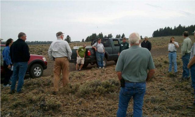 DNR/WDFW Naneum Ridge Field Trip 3