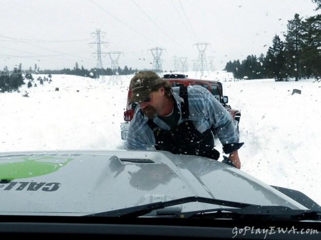 Colockum Snow Wheeling