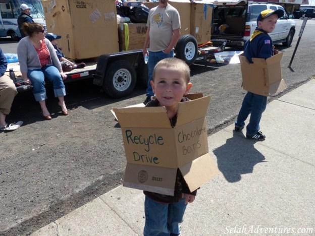 Selah Cub Scout Pack 276 Recycle Drive