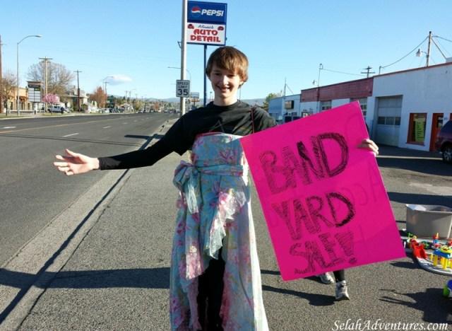 Selah 8th Grade Band