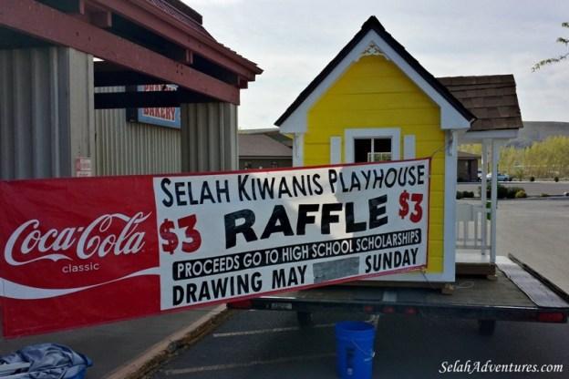 Selah Kiwanis Playhouse Raffle