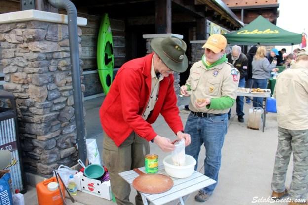 Boy Scouts Food Drive