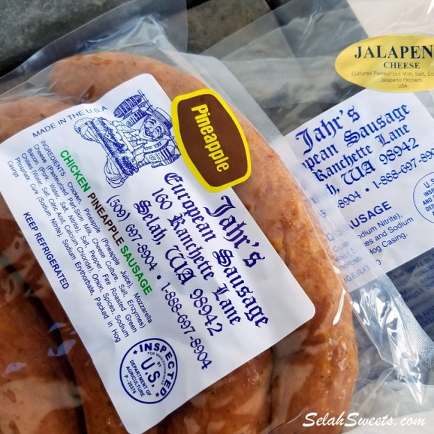 Selah Sweets Bratwurst Stand