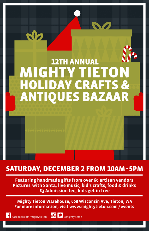 Mighty Tieton Holiday Crafts and Antiques Bazaar