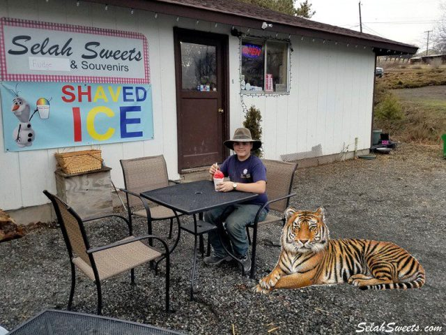 Tigers Blood Shaved Ice
