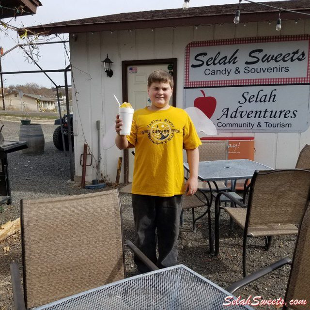 Selah Sweets Red Bull Shaved Ice