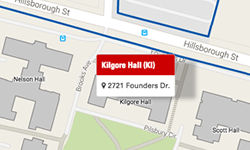 Kilgore Hall Map