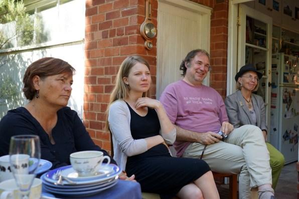 Joy, Annemarie, Christof and Bernadette.