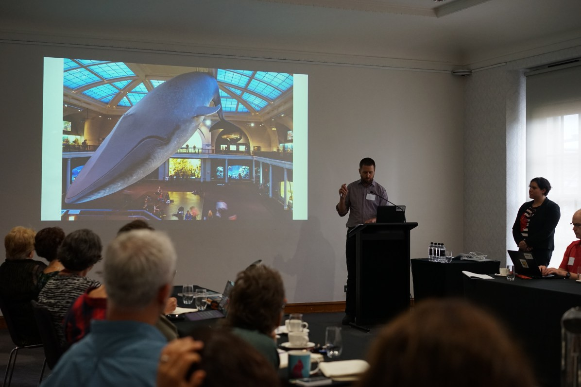 George Main and Jilda Andrews on the Life in Australia gallery project