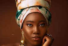 Miss Lisa, fashion model in Lagos state