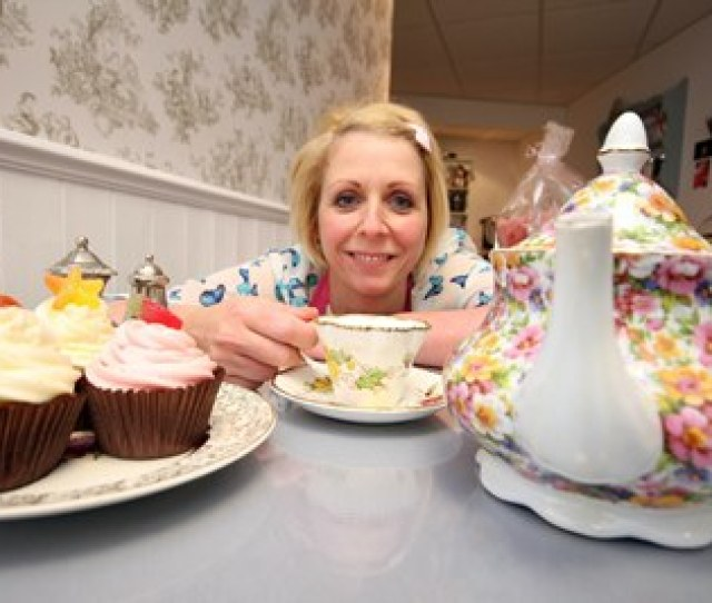 A New Tea Rooms Which Transports Customers Back To A Vintage Era Is Causing Quite A Stir In Hyde