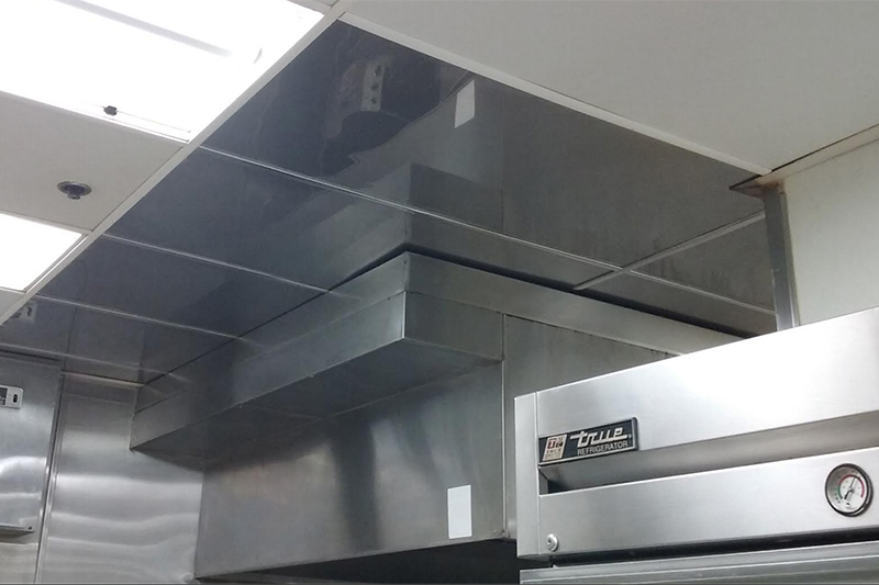 Kitchen Ceiling Cleaning and Repair