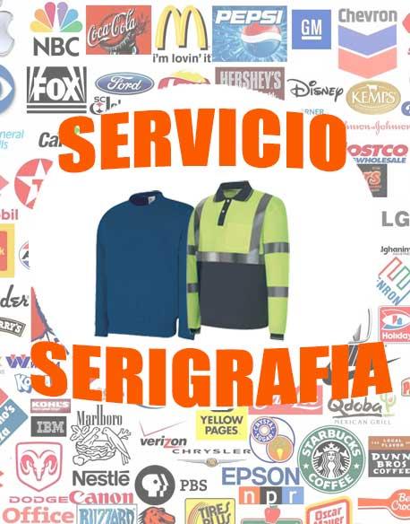 Servicio serigrafía