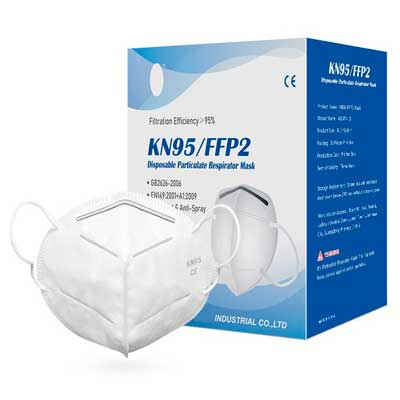 caja de mascarillas KN95