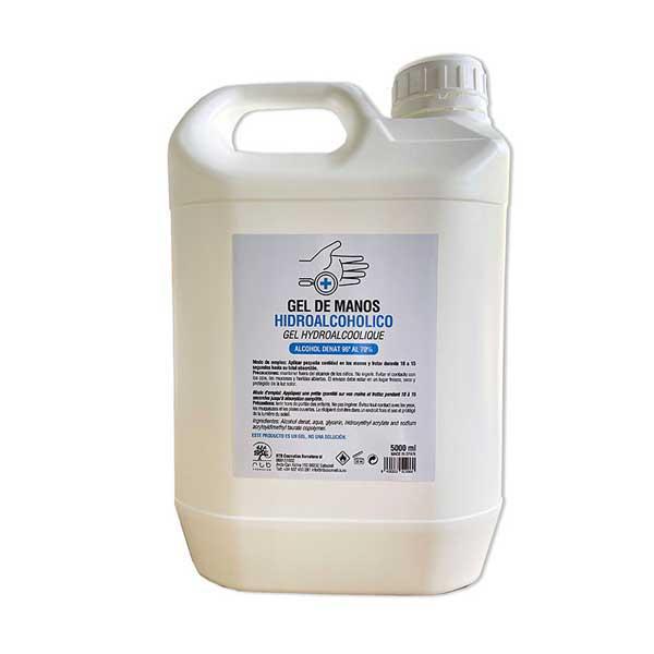 Garrafa gel hidroalcoholico