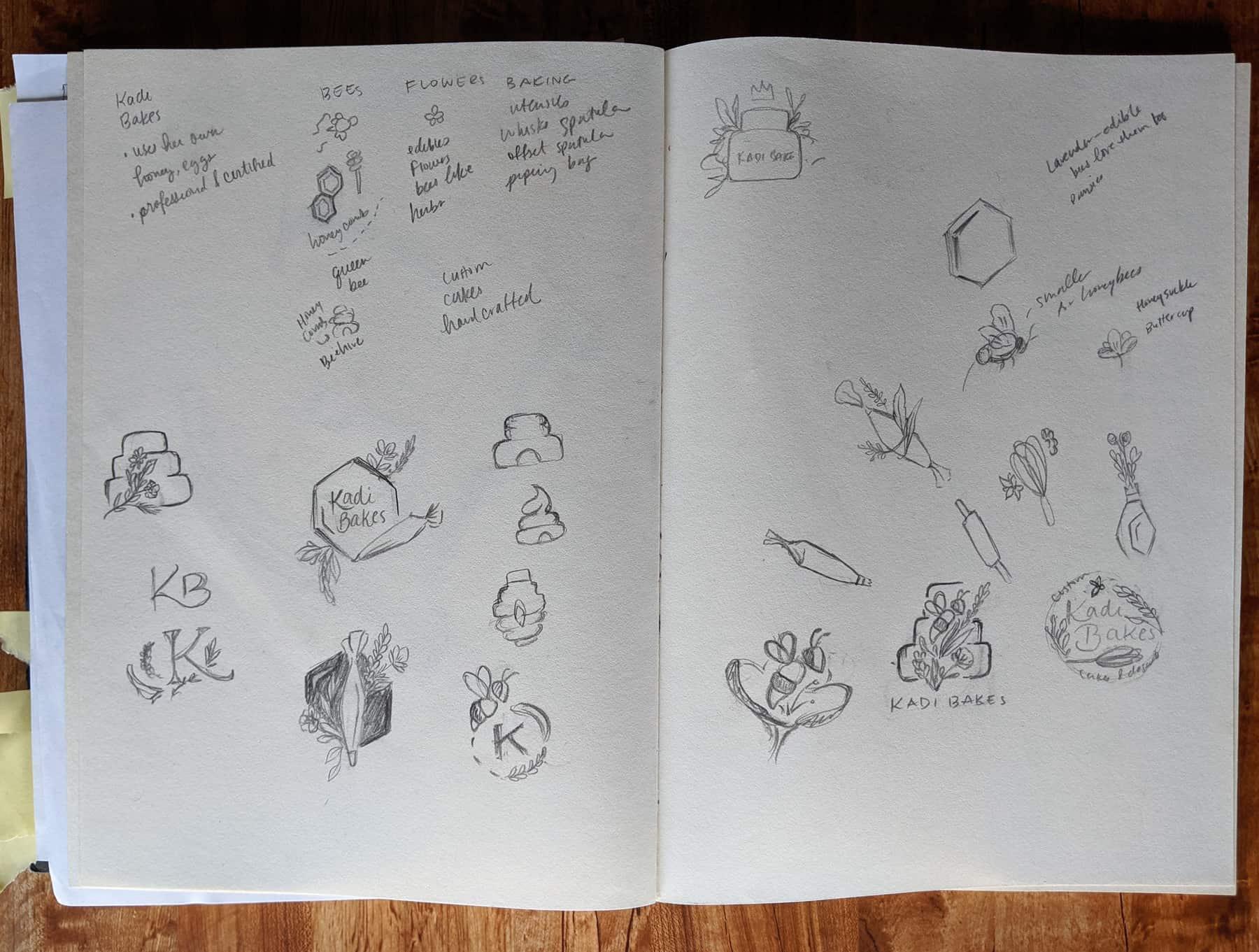 Kadi Bakes Sketches
