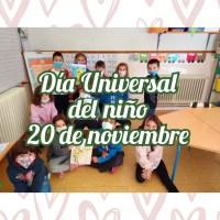 DÍA UNIVERSAL DEL NIÑO 20 DE NOVIEMBRE