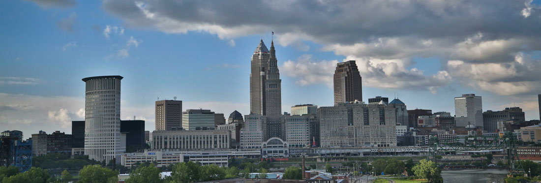 Cleveland skyline – photo byStephen LeonardionUnsplash