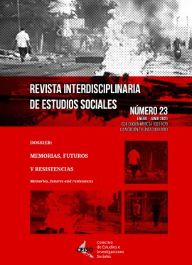 Ver Núm. 23 (2021): Enero / Junio 2021 - Revista Interdisciplinaria de Estudios Sociales