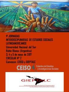 Jornadas Interdisciplinarias (Segunda Circular)