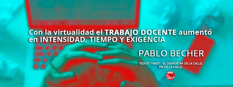 Pablo Becher – Teletrabajo en el ambiente docente