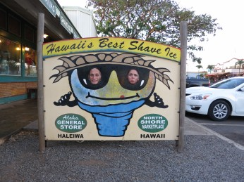 Vi stoppet også på North Shore for å bade litt og spise middag.