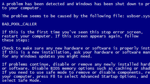 STOP 0xC2 aka BAD_POOL_CALLER Blue Screen and bad memory | cek log