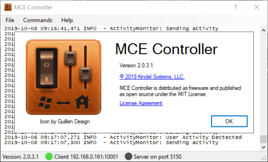 MCE Controller 2.0