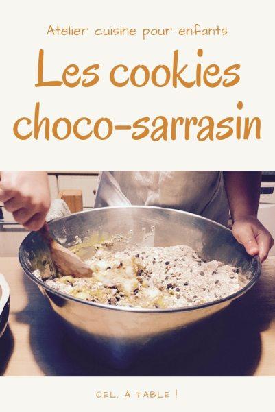 Atelier cuisine pour enfants : les cookies chocolat-sarrasin