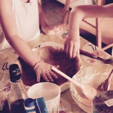 foncer la pâte