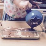 Un marbré d'anniversaire sain et facile à cuisiner avec votre enfant