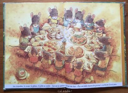extrait livre souris et potiron : le repas