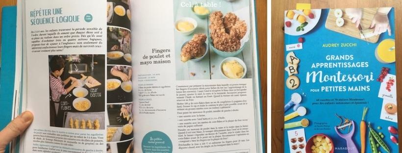 livre Montessori en cuisine