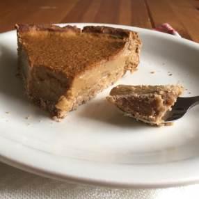 une part de tarte à la courge