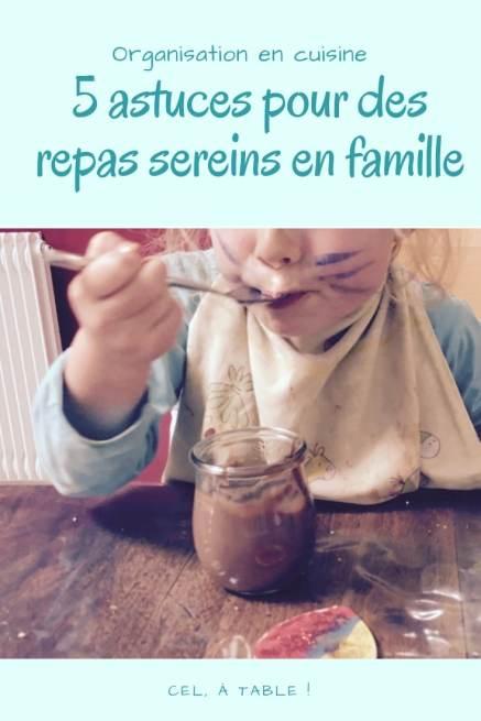 5 astuces pour des repas sereins en famille