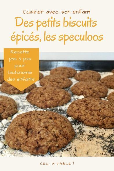recette de speculoos à cuisiner avec les enfants