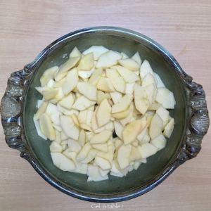 pommes coupées